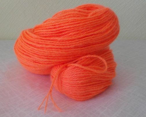 кавказская пряжа апельсин