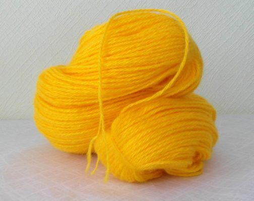 кавказская пряжа желтая