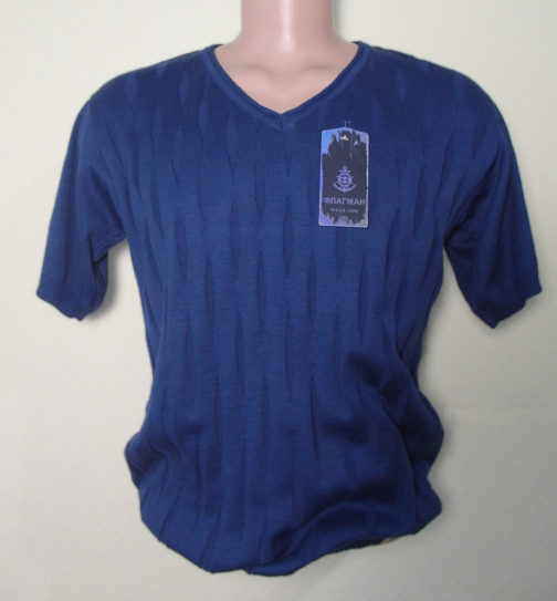 футболка мужская трикотажная