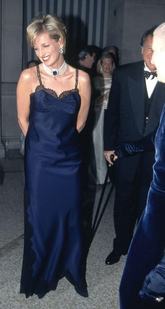 Леди Диана в платье от Dior