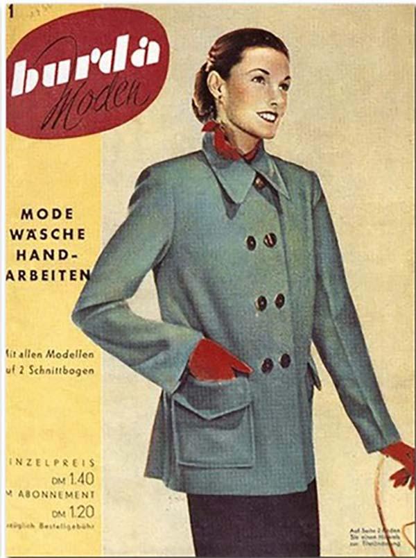Обложка первого журнала Бурда