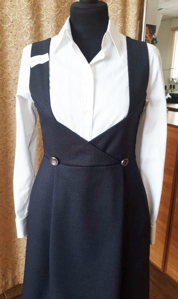 сарафан как униформа для студенток