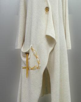 Пальто легкое А-силуэт
