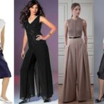 Стильная юбка-брюки