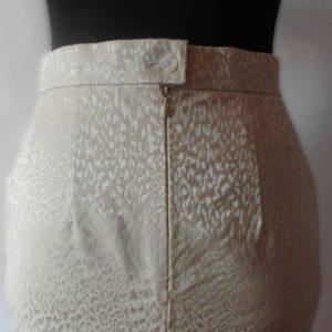 деловой костюм из жаккарда обработка швов юбка карандаш