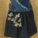 джинсовый микс детское платье