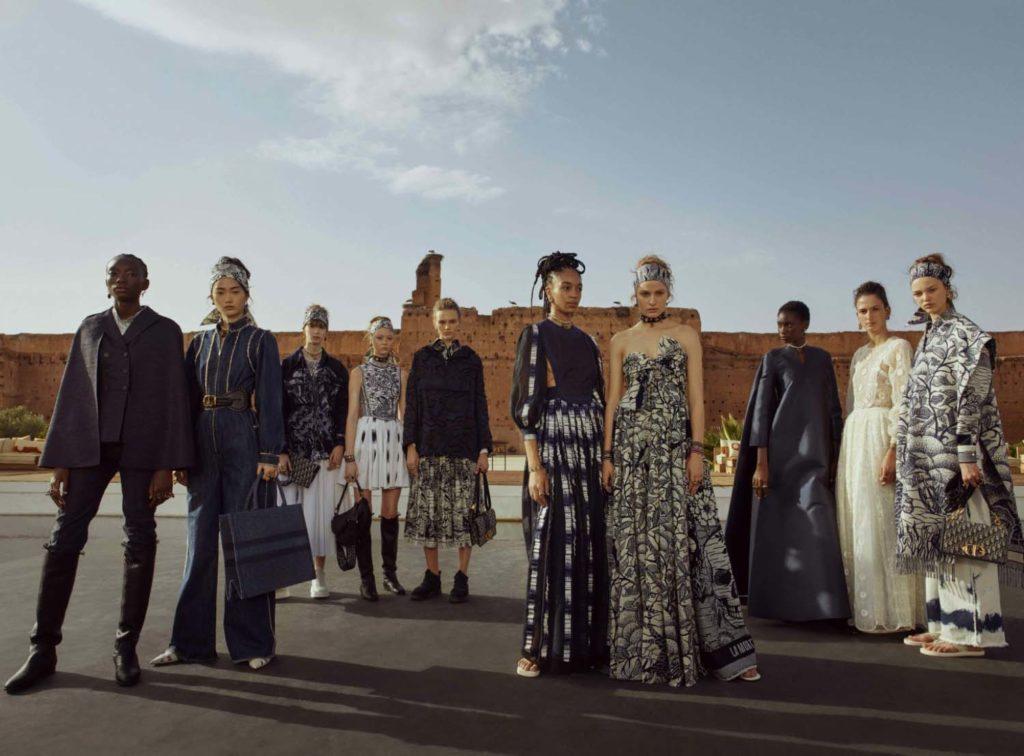 Коллекция Dior в Марракеш