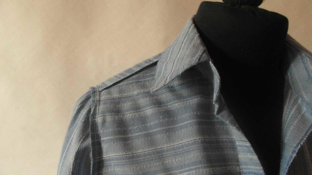 изнаночная сторона рубашка-платье