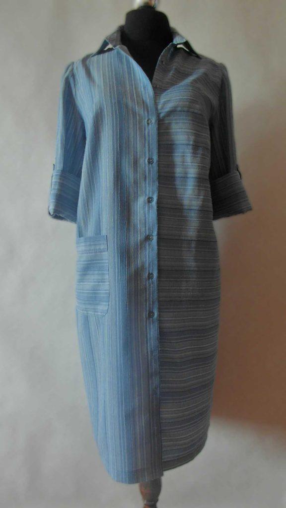 рубашка-платье без пояса