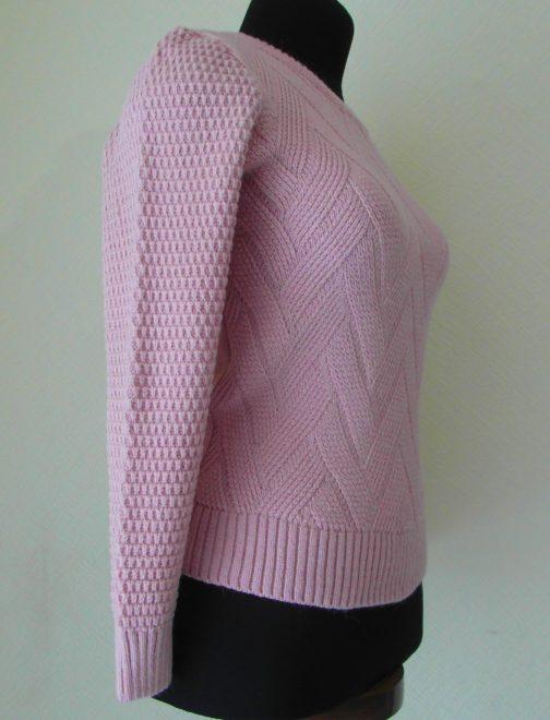 джемпер (кофта) розовая