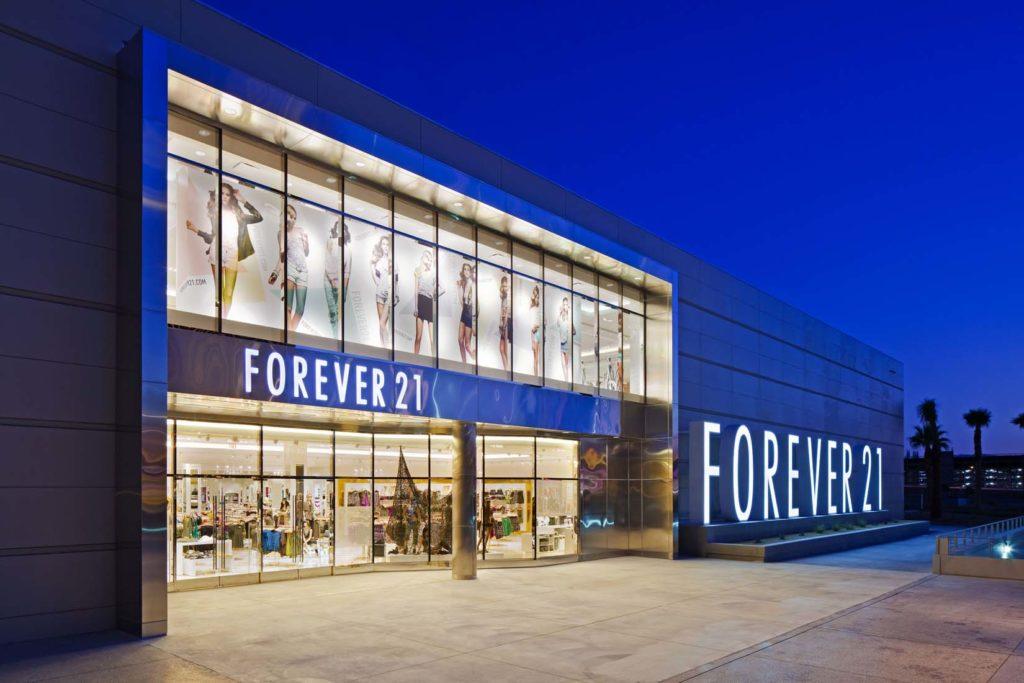 Магазин сети forever 21