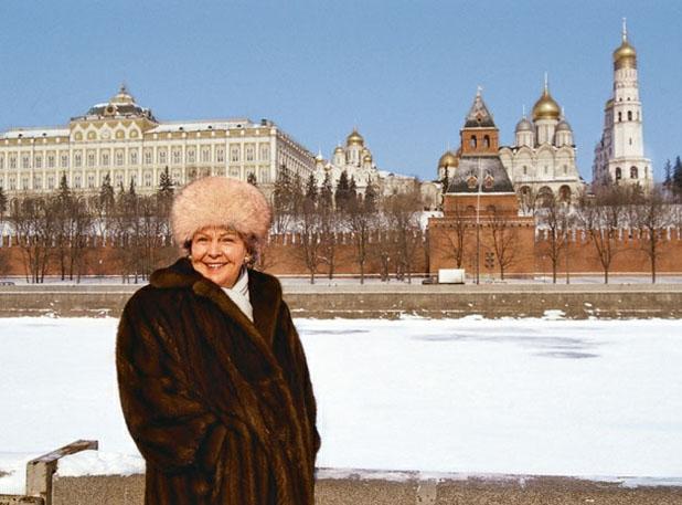Энне бурда в Москве
