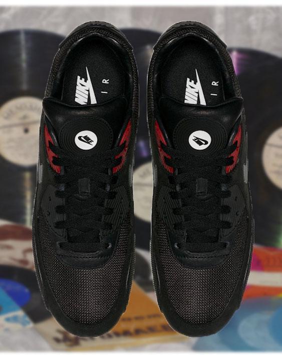 кроссовки nike дизайн вдохновленный виниловыми пластами