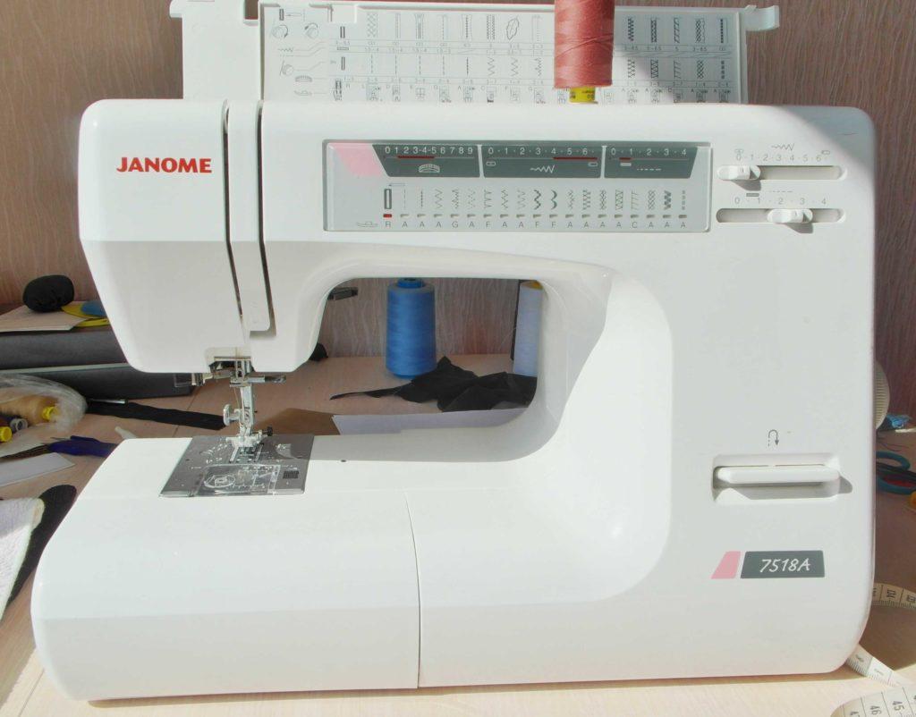 бытовая машинка Janome 7518A