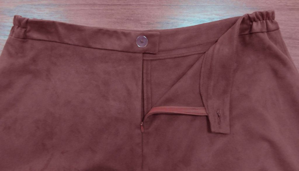 юбка с вшитой резинкой
