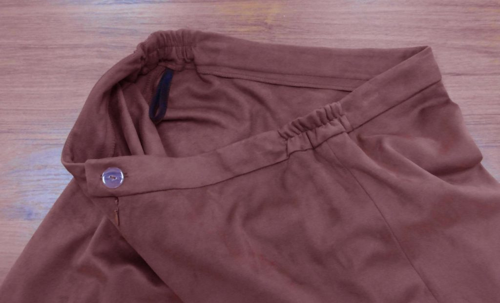 резинка вшитаяв юбку для коррекции