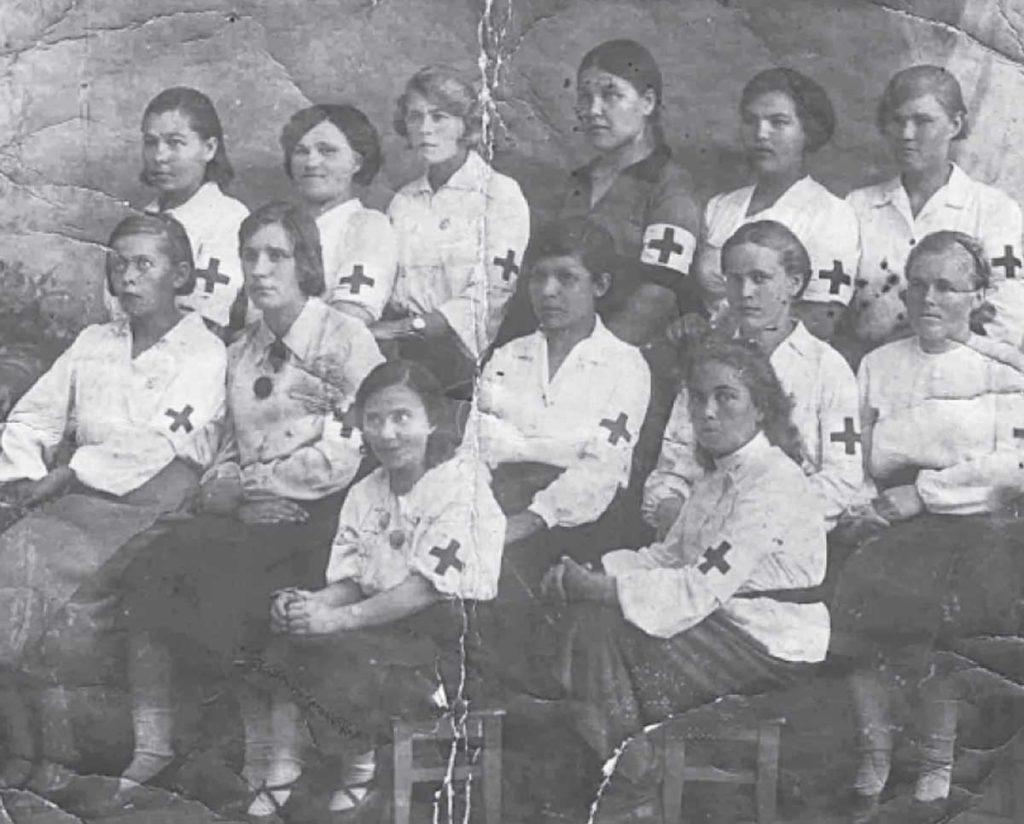 Санитарная дружина Сарапульской швейной фабрики