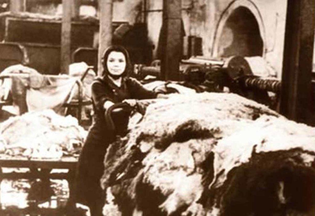 Швейная фабрика в Тюмени в годы ВОВ