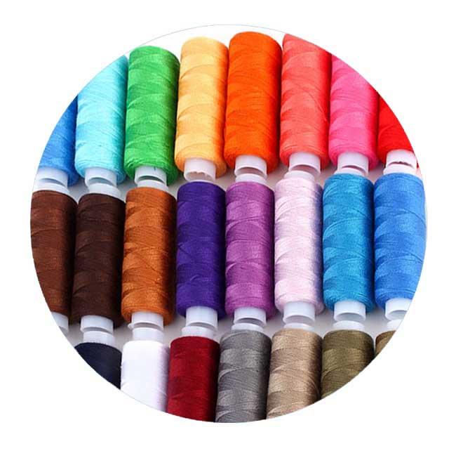 Нитки для швейных машинок обычные катушки