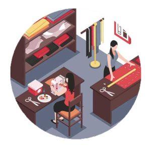 3 совета по оптимизации рабочего места швеи и лайфхак из области швейного мастерства