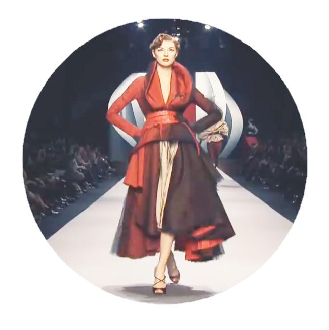 Модель Christian Dior