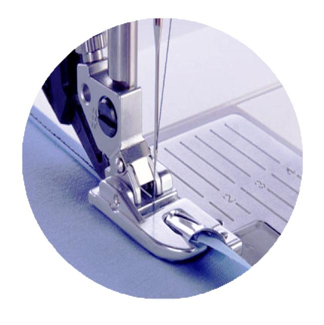 подрубочная лапка для швейной машинки